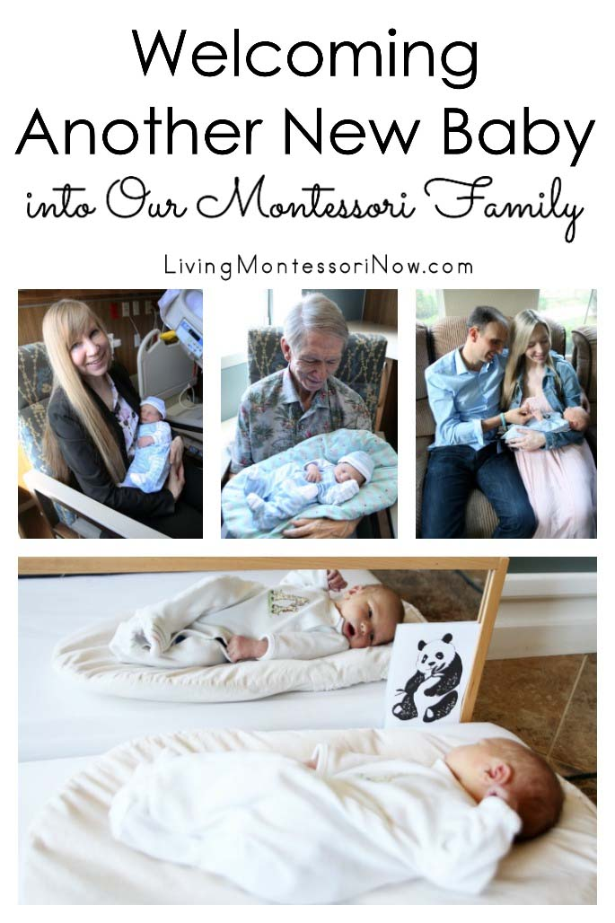 Welcoming Another New Baby into Our Montessori Family