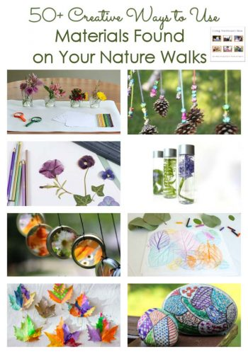 50+ Creative Ways to Use Materials Found on Your Nature Walks