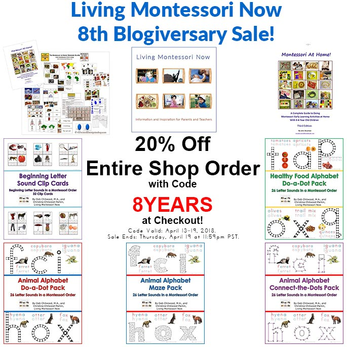 Free montessori botany materials for a gardening unit to celebrate everything is 20 off in our living montessori now shop with coupon code 8years at checkout sale ends thursday april 19 at 1159pm pst fandeluxe Images