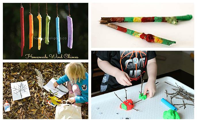 Activities Using Sticks
