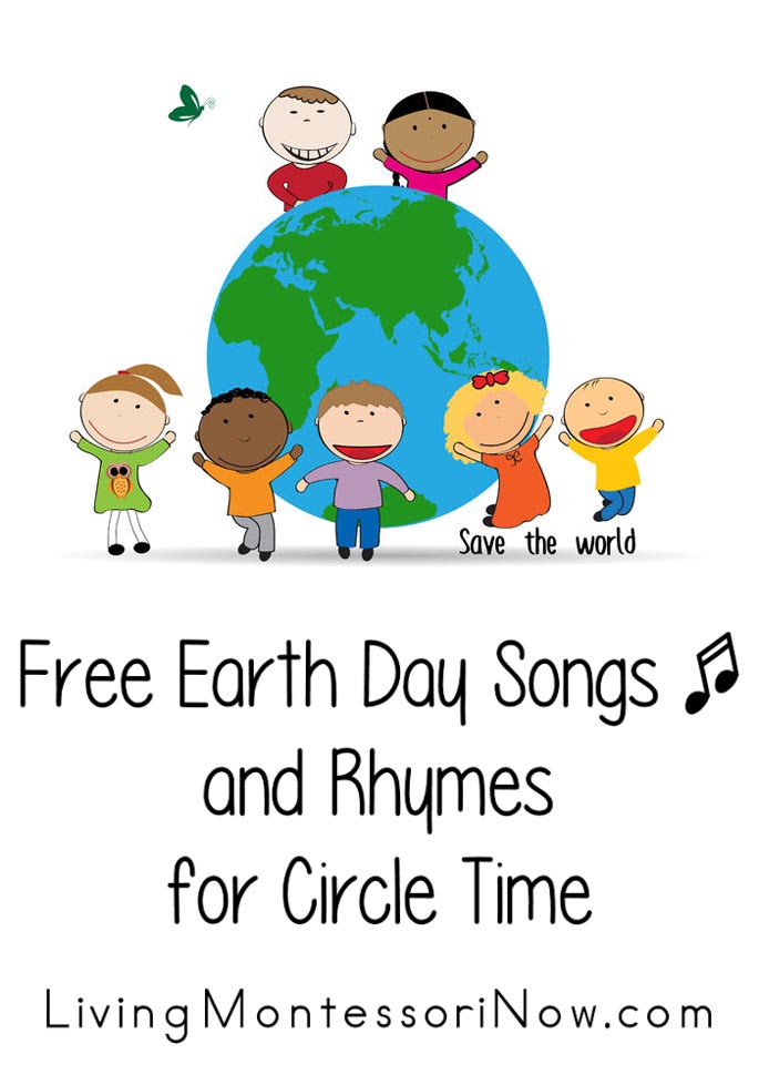 Free Earth Day Songs and Rhymes for Circle Time