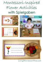 Montessori-Inspired Flower Activities with Spielgaben