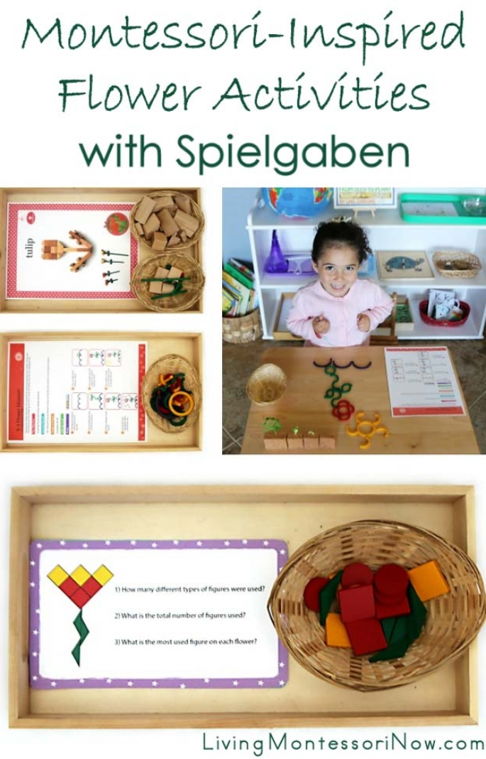 Montessori-Inspired Flower Activities with Spielgaben