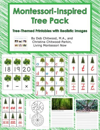 Montessori-Inspired Tree Pack