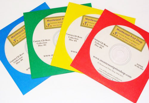 Montessori Print Shop Deluxe CD Rom Collection
