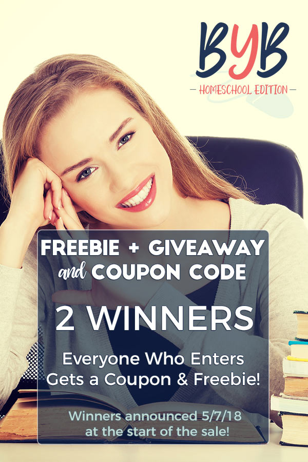Enter to win a HUGE giveaway, grab a FREEBIE & coupon code