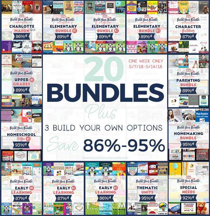 Build Your Bundle Sale 2018