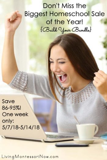 Don't Miss the Biggest Homeschool Sale of the Year {Build Your Bundle}!