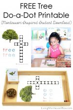 FREE Tree Do-a-Dot Printable (Montessori-Inspired Instant Download)