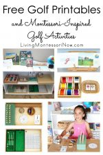 Free Golf Printables and Montessori-Inspired Golf Activities