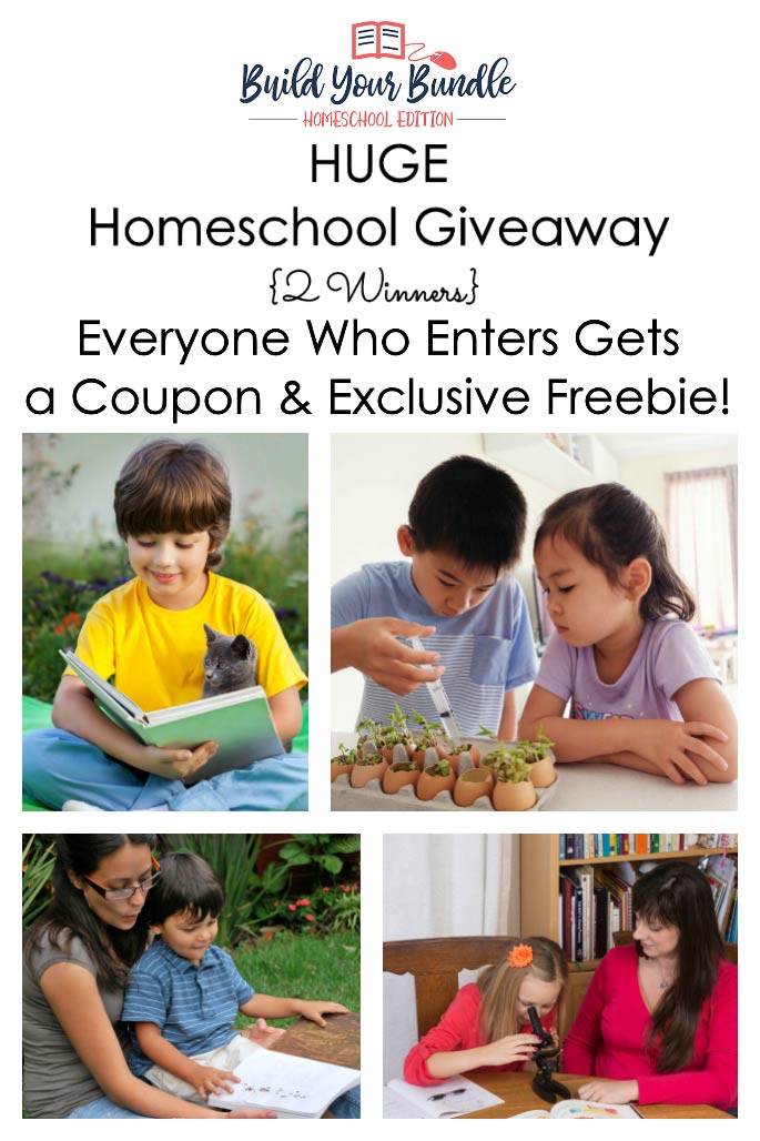 Giveaways archives living montessori now huge homeschool giveaway exclusive freebie and coupon code build your bundle homeschool edition fandeluxe Image collections