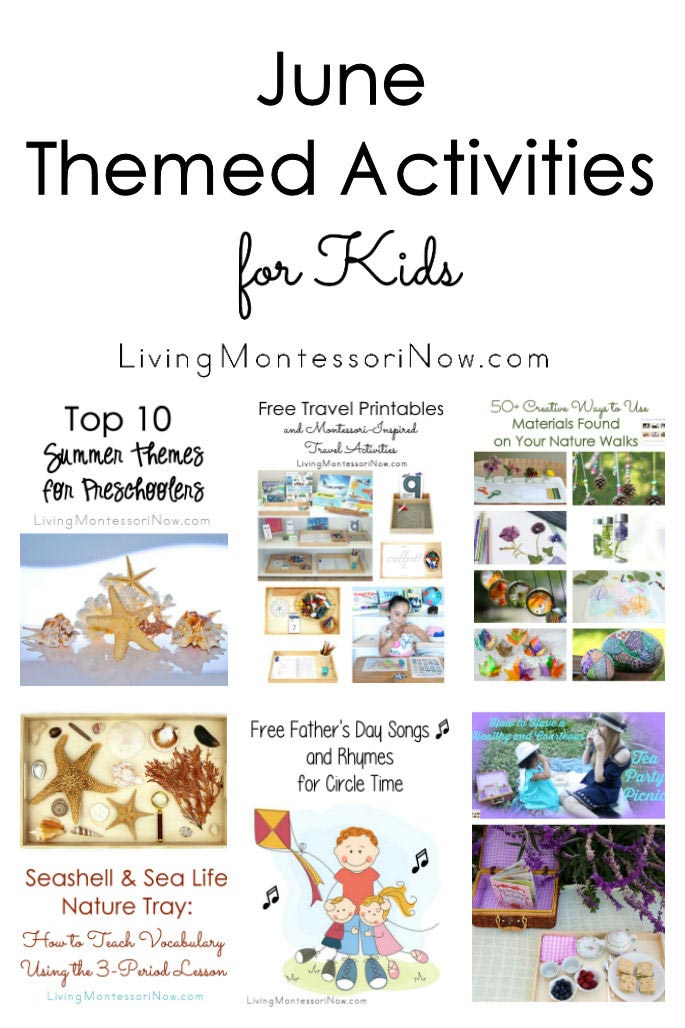 June Themed Activities For Kids