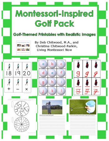 Montessori-Inspired Golf Pack
