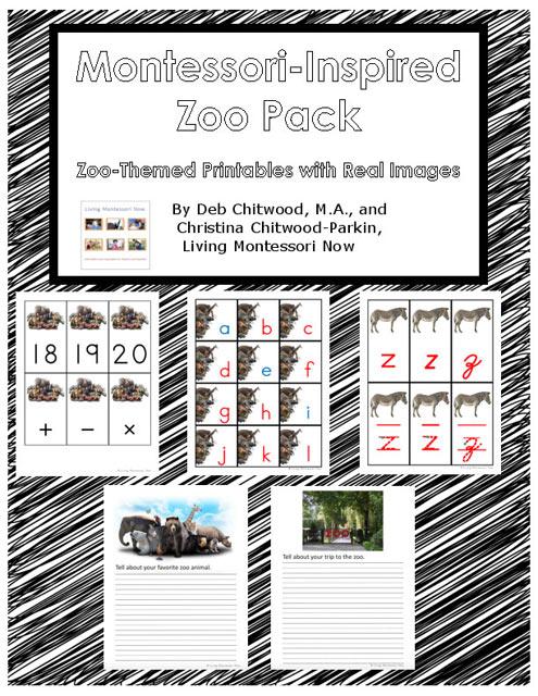 Montessori-Inspired Zoo Pack