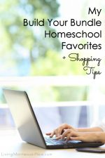 My Build Your Bundle Homeschool Favorites Plus Shopping Tips {Flash Sale July 16-18!}