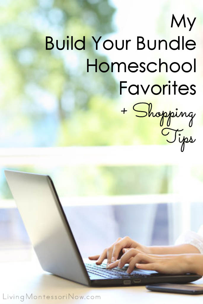 My Build Your Bundle Homeschool Favorites Plus Shopping Tips {Flash Sale Preview!}