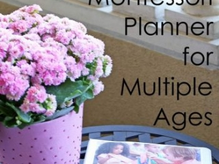 How I Like to Use the Ultimate Montessori Planner for Multiple Ages