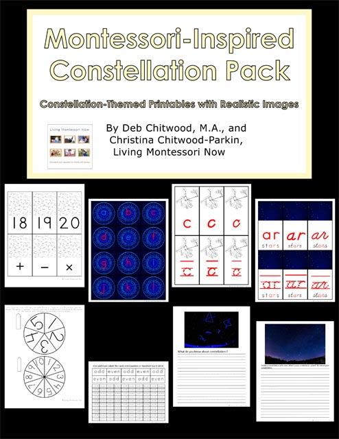 Montessori-Inspired Constellation Pack
