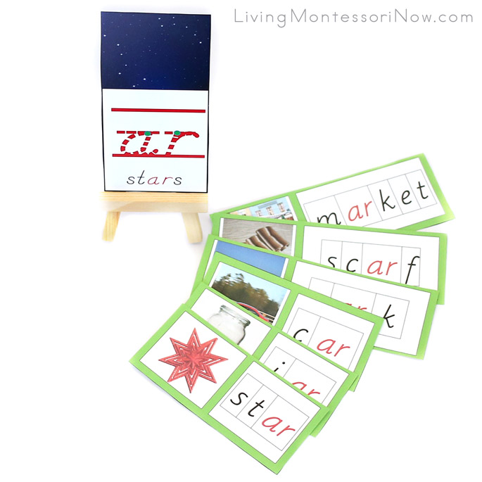Montessori ar Phonogram Cards