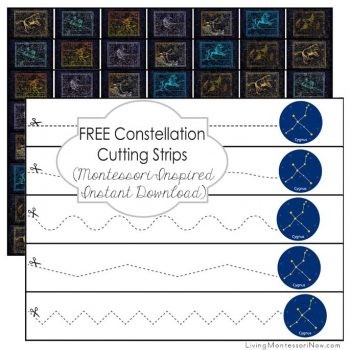 Free Constellation Cutting Strips