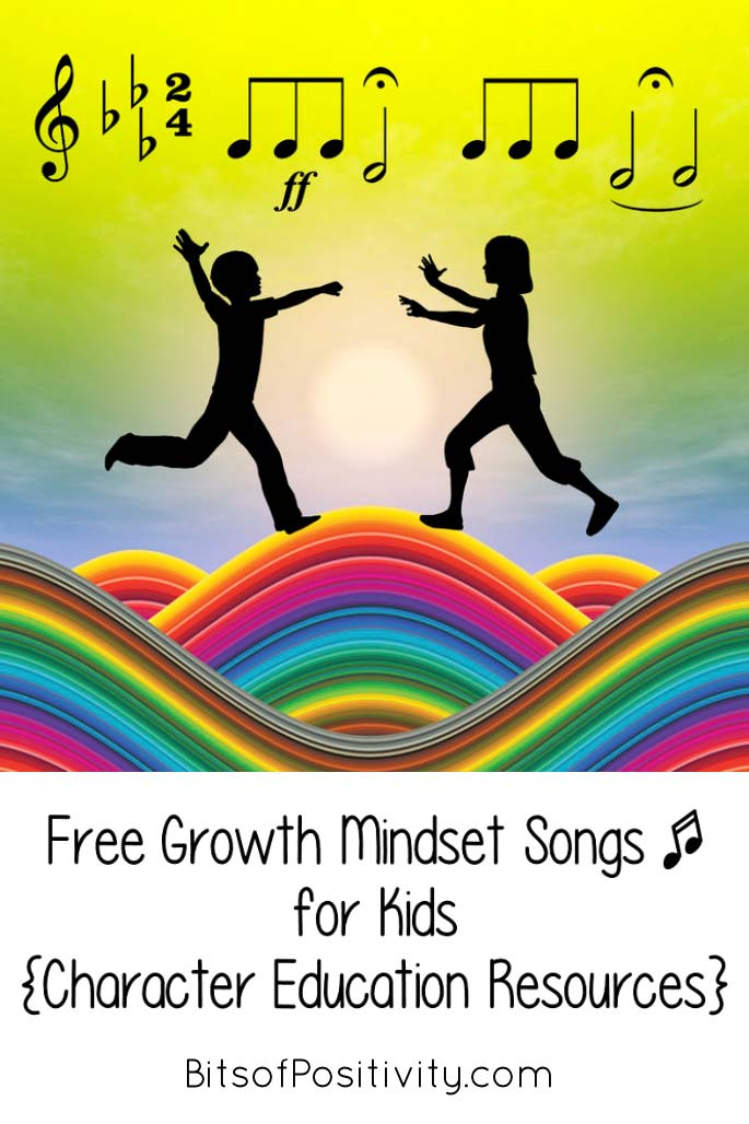 Free Growth Mindset Songs for Kids