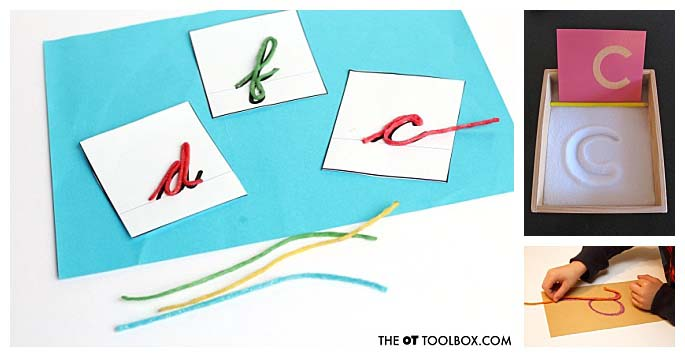 Sandpaper Letter Extensions