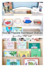 How to Prepare Montessori Shelves for a Mini Fall Unit