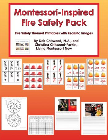 Montessori-Inspired Fire Safety Pack
