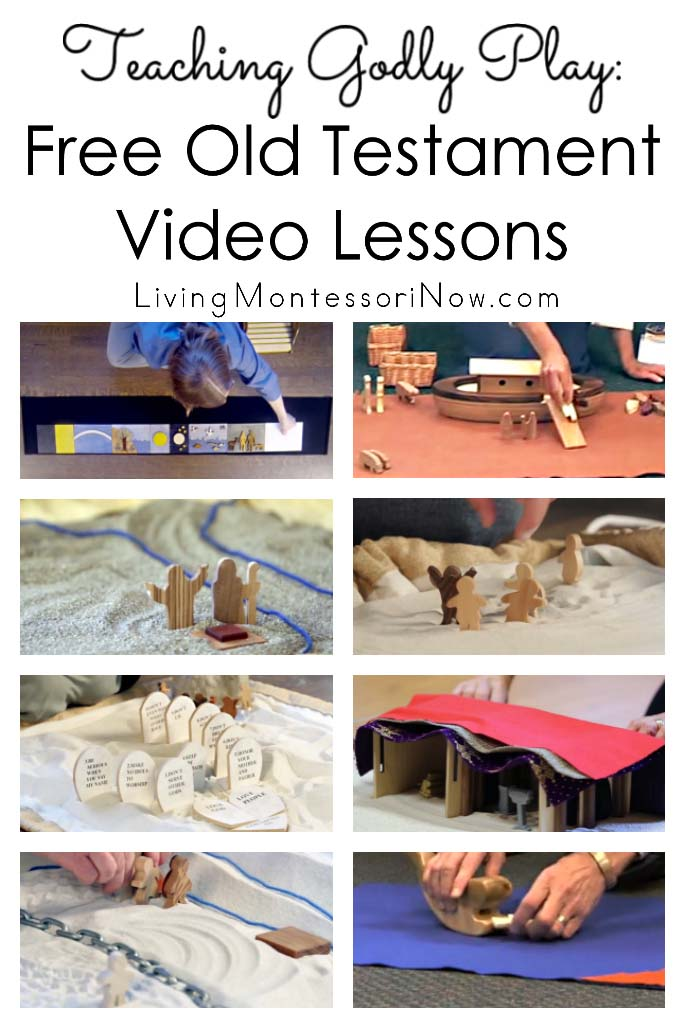 Teaching Godly Play: Free Old Testament Video Lessons
