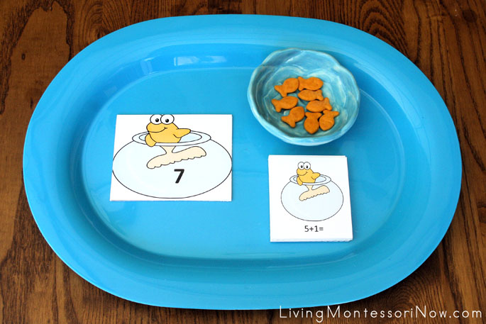 One Fish Two Fish Addition Tray