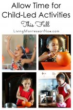 Allow Time for Child-Led Activities This Fall