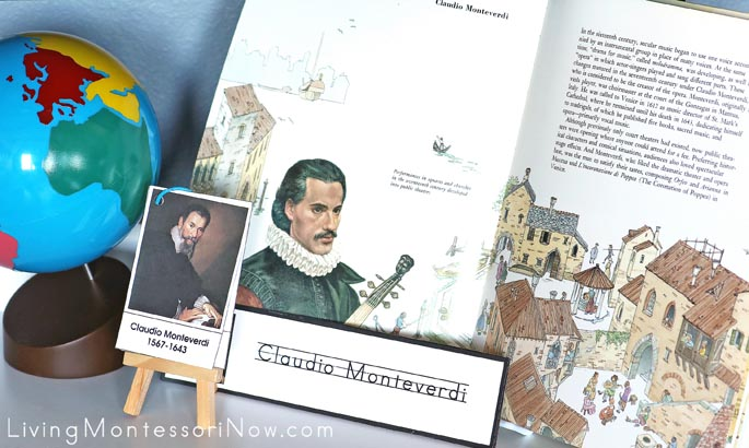 Claudio Monteverdi Music History Resources