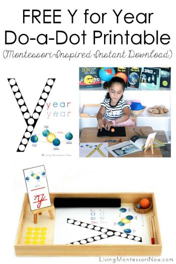 Free Y for Year Do-a-Dot Printable