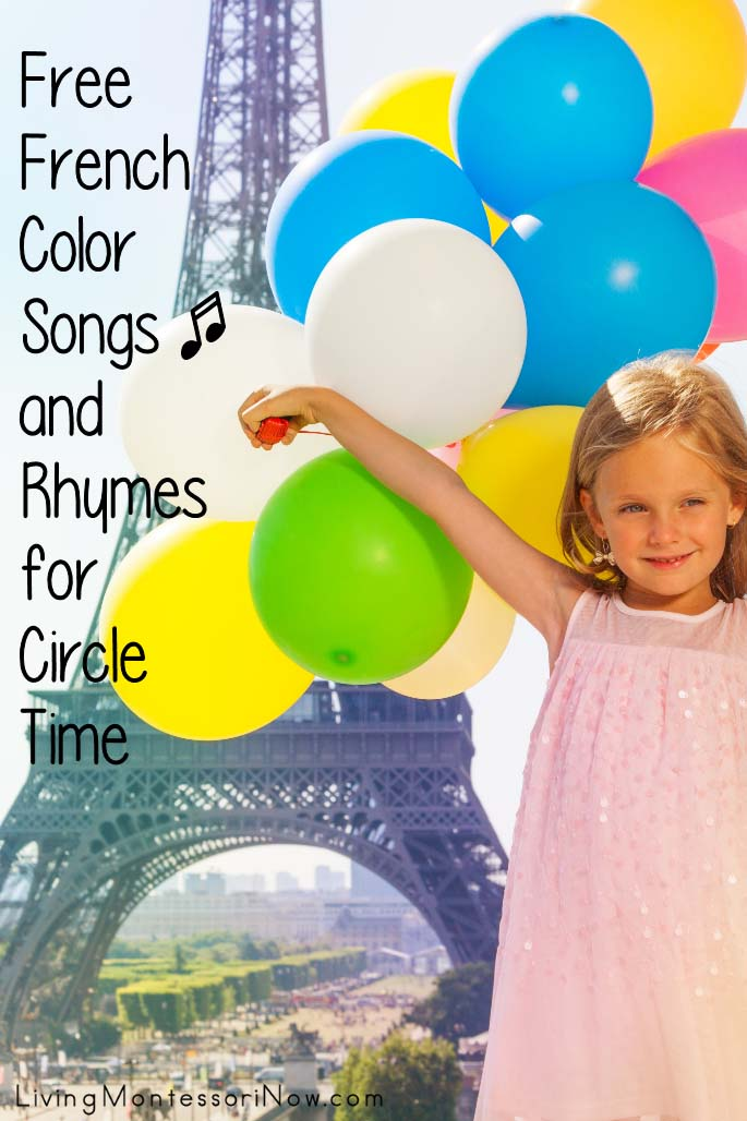 Free French Color Songs and Rhymes for Circle Time