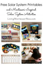 Free Solar System Printables and Montessori-Inspired Solar System Activities