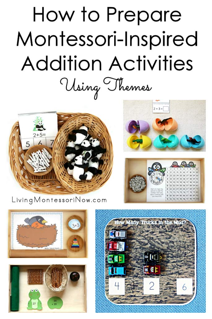 How to Prepare Montessori-Inspired Addition Activities Using Themes