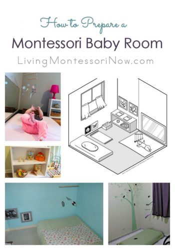 How to Prepare a Montessori Baby Room at Home