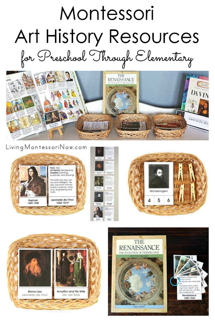 Montessori Art History Resources for Preschool Through Elementary