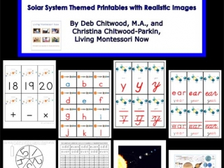 Montessori-Inspired Solar System Pack