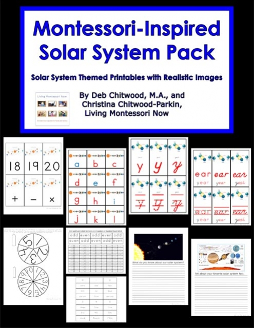 Montessori-Inspired Solar System Pack