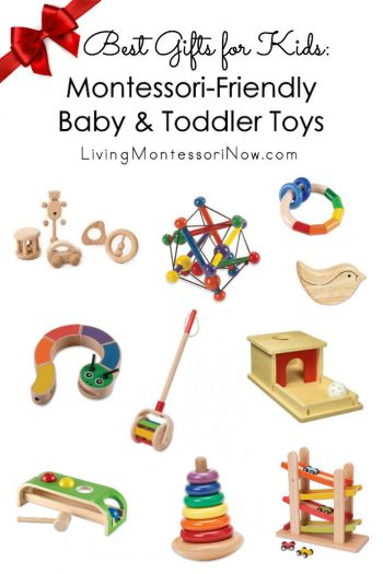 Best Gifts for Kids: Montessori-Friendly Baby and Toddler Toys