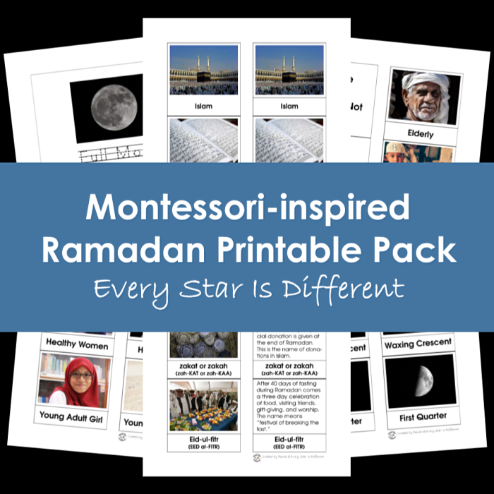 Montessori-Inspired Ramadan Printable Pack