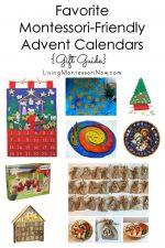 Favorite Montessori-Friendly Advent Calendars {Gift Guide}