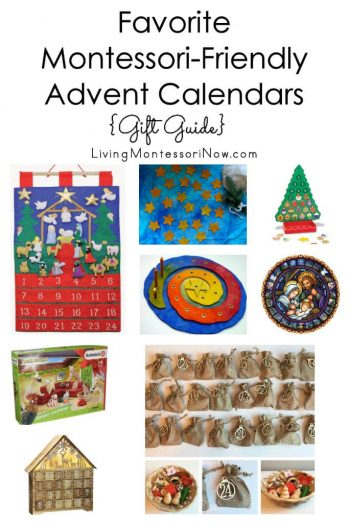 Favorite Montessori-Friendly Advent Calendars {Gift Guide}