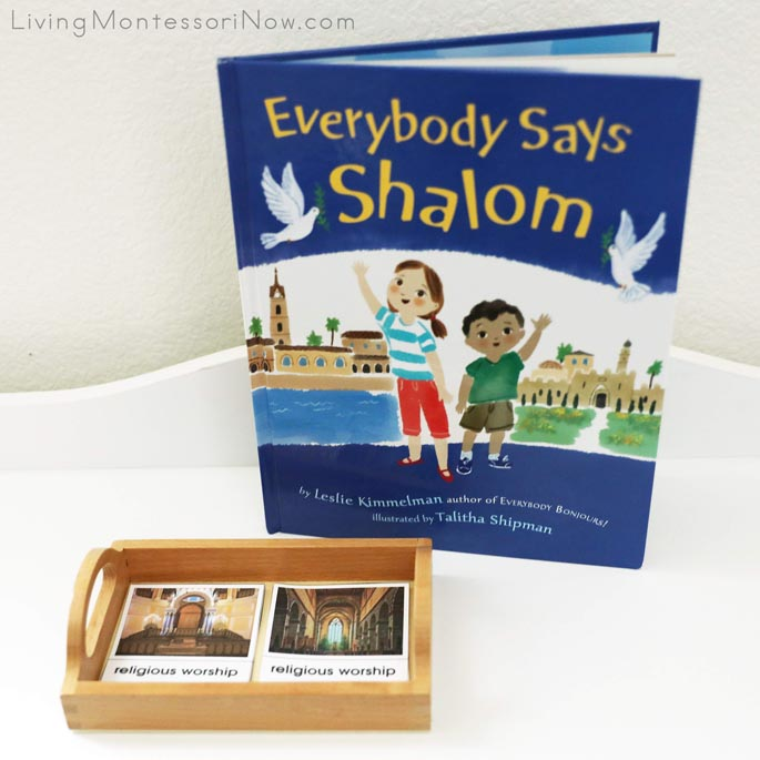 Hanukkah and Christmas Similarities Matchup with Everyone Says Shalom Book