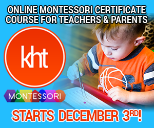 KHT Montessori December 3 Online Course