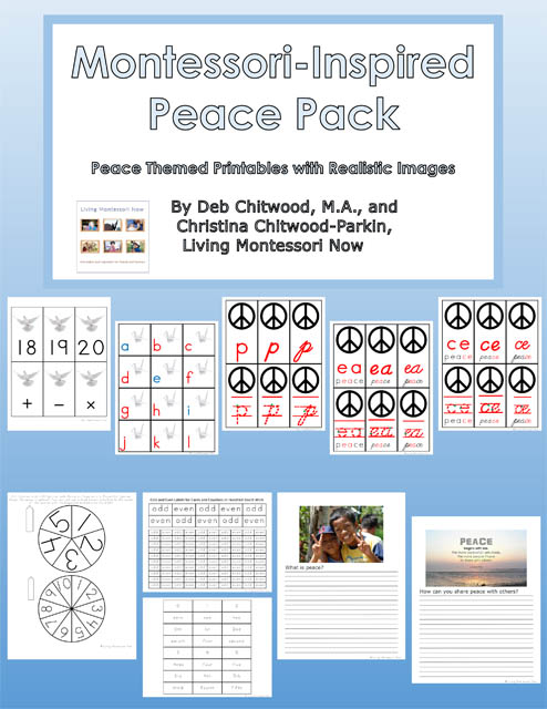 Montessori-Inspired Peace Pack Subscriber Freebie