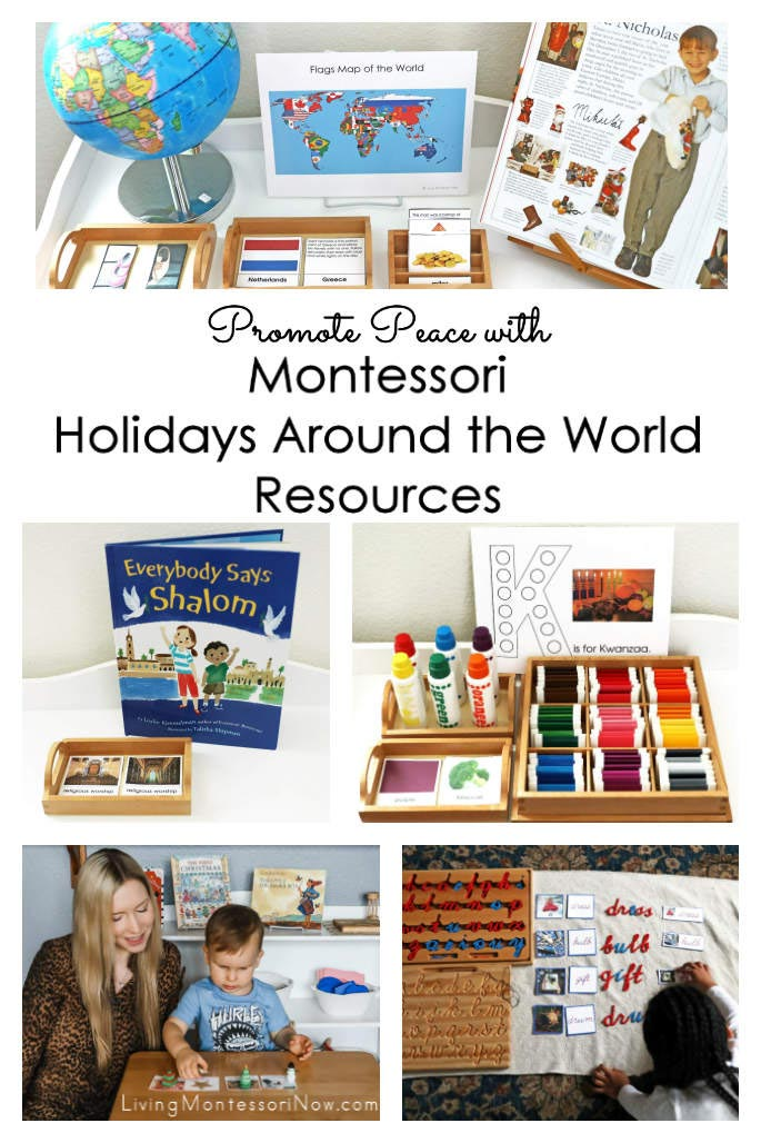 Promote Peace with Montessori Holidays Around the World Resources (Expansion Resources)