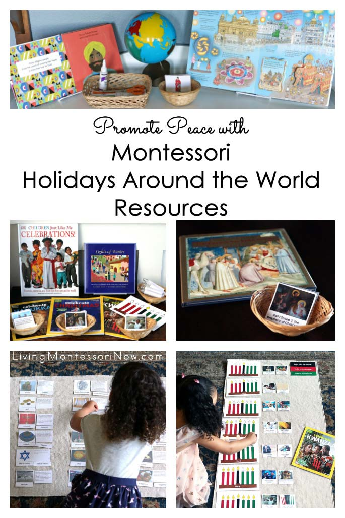 Montessori Holidays Around the World Resources