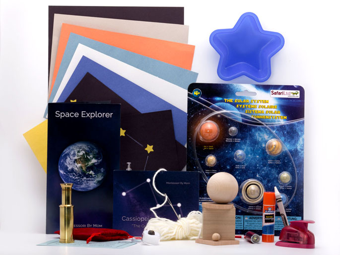 Space Explorer Toolbox from Montessori By Mom